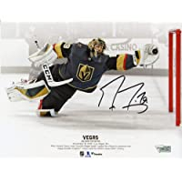 "$69 » Marc-Andre Fleury Vegas Golden Knights Autographed 8"" x 10"" Diving Save vs. Toronto…"