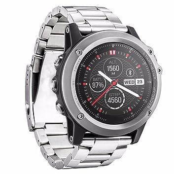Garmin Fenix 3 Acero inoxidable Correa de reloj / banda de / cadena de reloj /