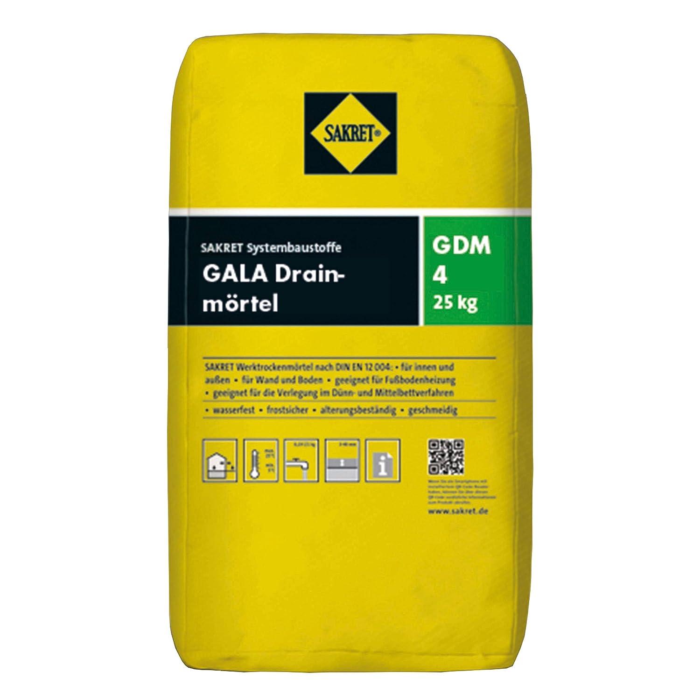 Sakret GALA Drainagem/örtel GDM4 a 25 kg Sack