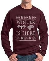Winter Is Here Ugly Christmas Sweater Crewneck Sweatshirt