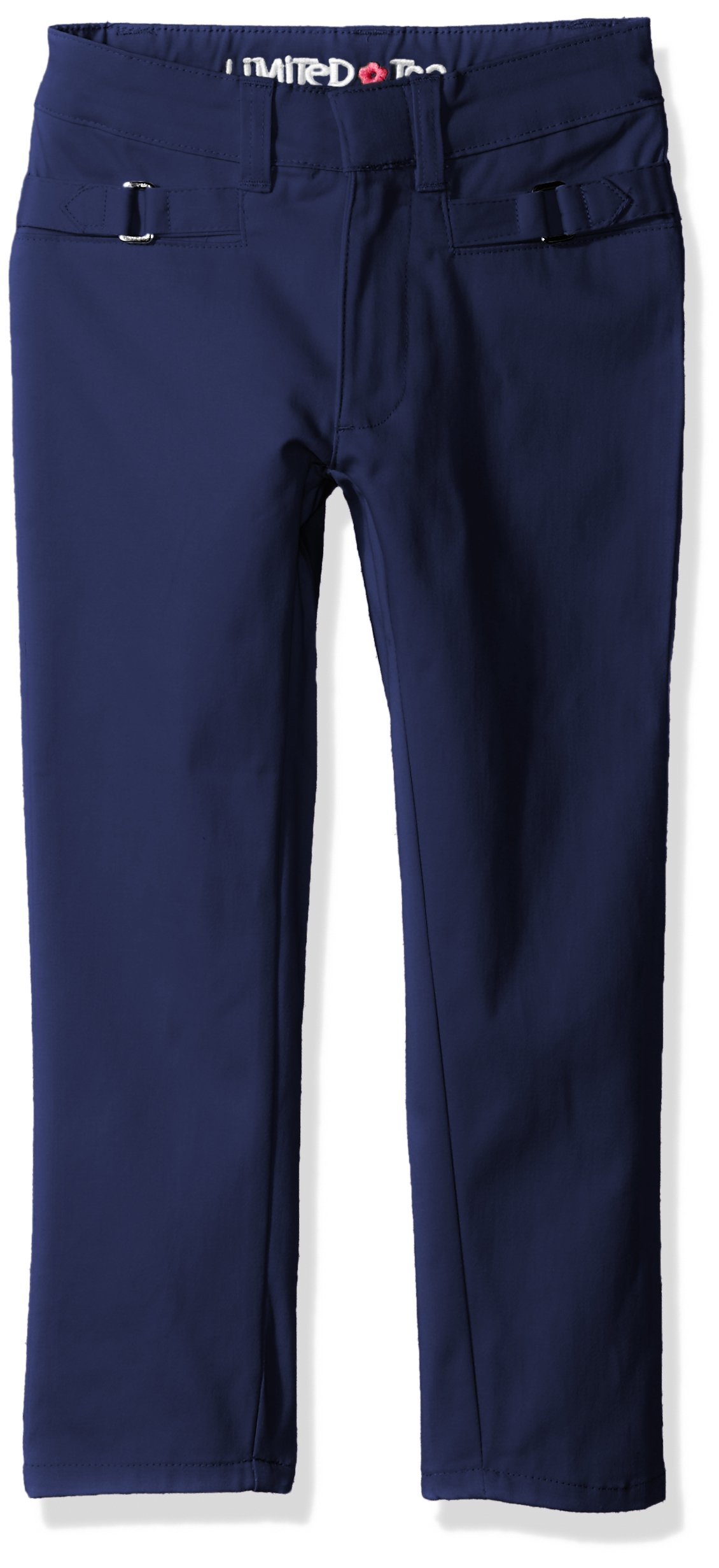 Limited Too Girls' Twill Pant (More Styles Available), Basic Navy, 5