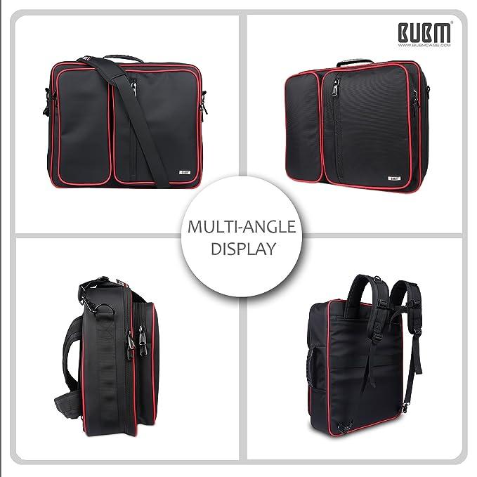 3162f3486d HTC VIVE Carry Bag - BUBM Heavy-Duty Multi funtion Shockproof Backpack  Messenger bag Shoulder Bag with Adjustable Padded for HTC Vive VR Headset  and ...
