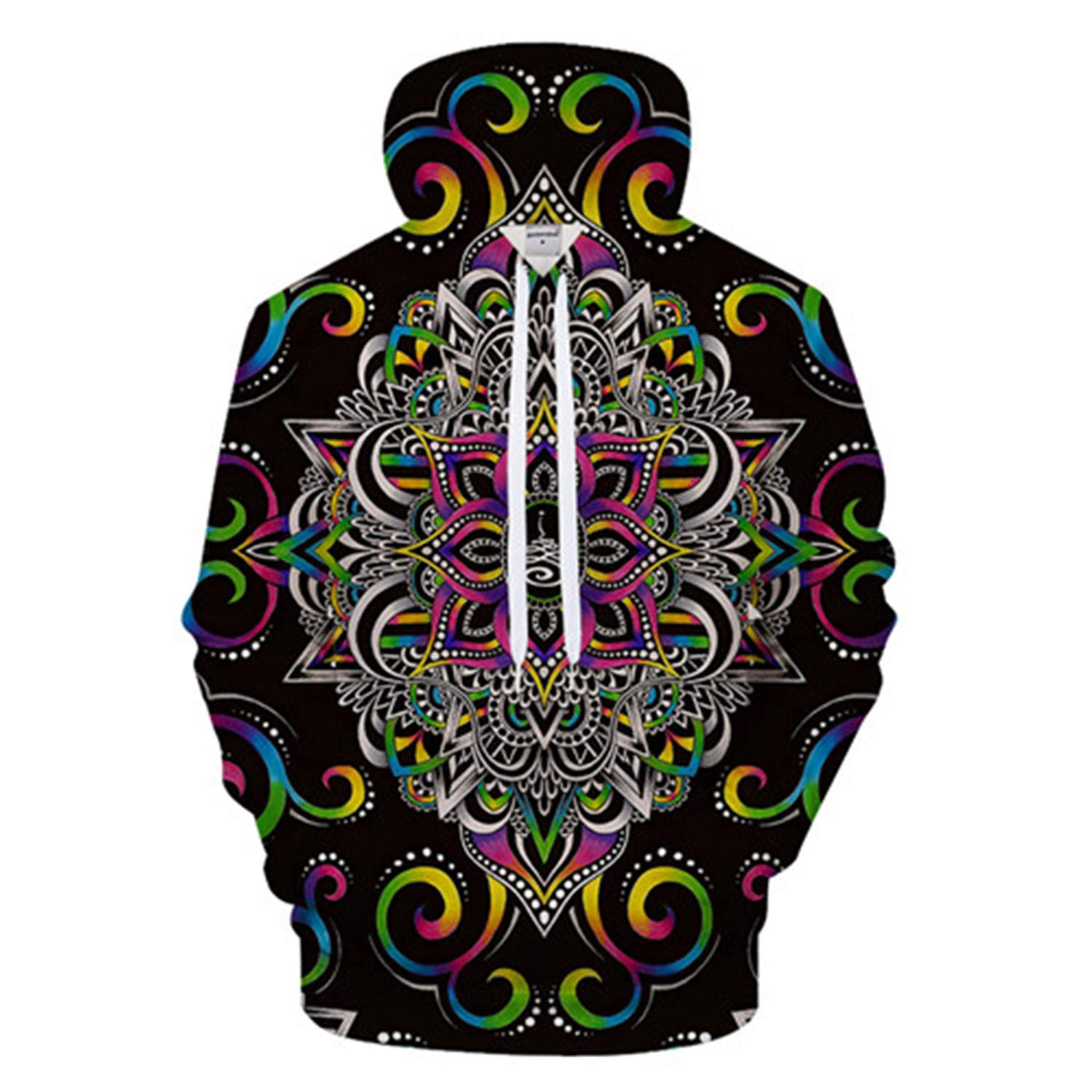 nayingying Armonía Magia Por Brizbazaar Arte Hombres Hoody 3D Hoodies Sudadera Flor Hombres Mujeres Hoodie Coat Pullover Chándal Gota Nave LMS397 XXL at ...