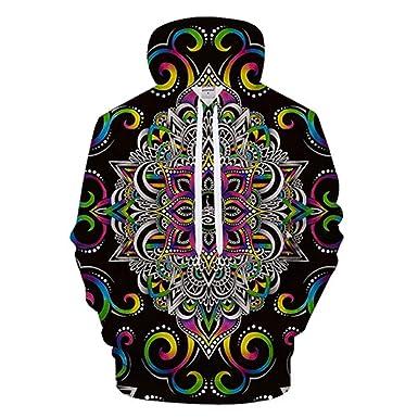 nayingying Armonía Magia Por Brizbazaar Arte Hombres Hoody 3D Hoodies Sudadera Flor Hombres Mujeres Hoodie Coat