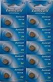Eunicell CR1130 Lot de 10 piles bouton lithium 3 V