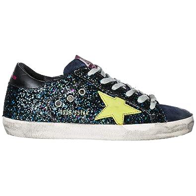 Golden Goose Zapatos Zapatillas de Deporte Mujer en Piel Superstar BLU EU 36 G33WS590.L68: Amazon.es: Zapatos y complementos