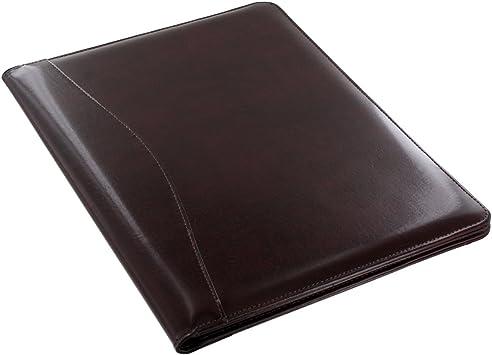 Writing Pad Royce Leather Shiny Leather Writing Portfolio Presentation Fold.
