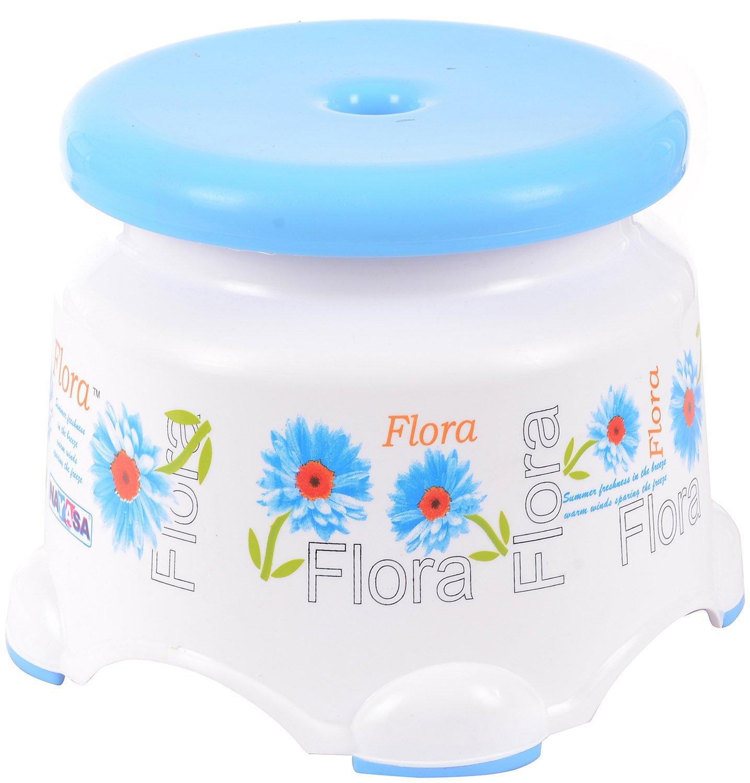 Samruddhi Nayasa Flora Plastic Bath Stool 21 Cms X 22 Cms White u0026 Blue Amazon.in Electronics  sc 1 st  Amazon.in & Samruddhi Nayasa Flora Plastic Bath Stool 21 Cms X 22 Cms White ... islam-shia.org