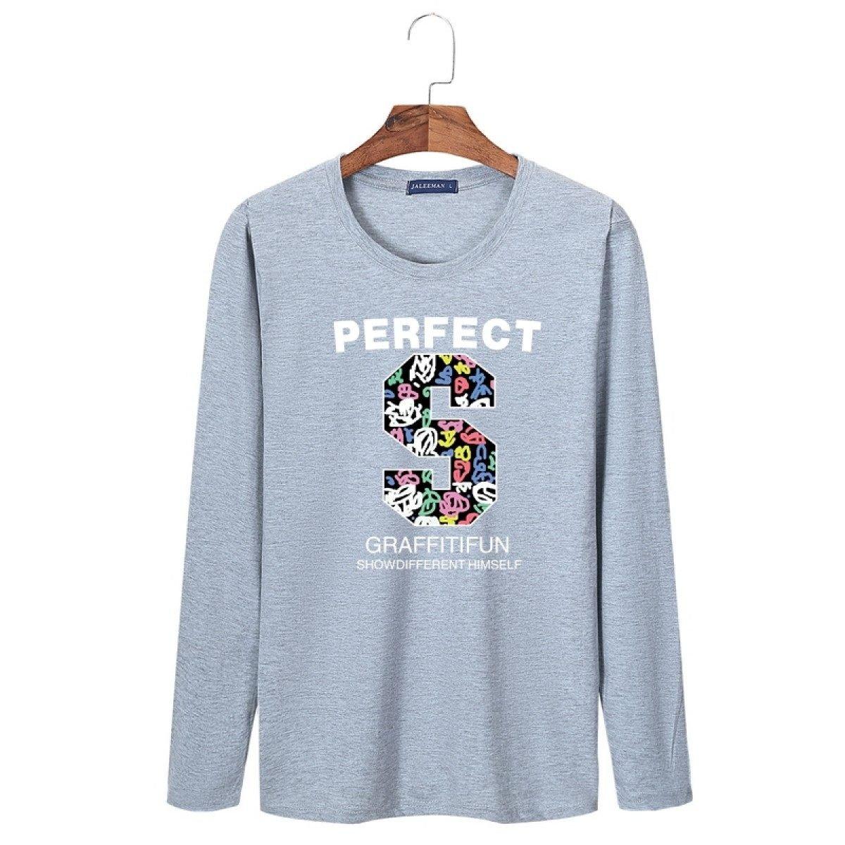 Männer Pullover Langarm T-Shirt Herbst Rundhalsausschnitt Große Größe Solid Farbe Compassionate Self-Anbau Pullover Frühling