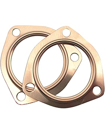"""Gaskets Exhaust Header Collector Flange Pair 2.5/"""" Triangle ROL EXTREME HIGH TEMP"""