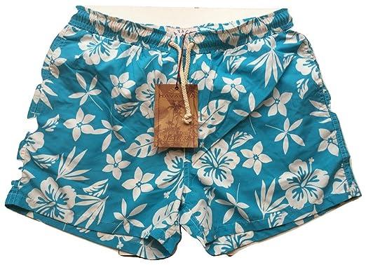37f6d9bcab Havacoa Mens Swim Shorts XL (34) Surf: Amazon.co.uk: Clothing