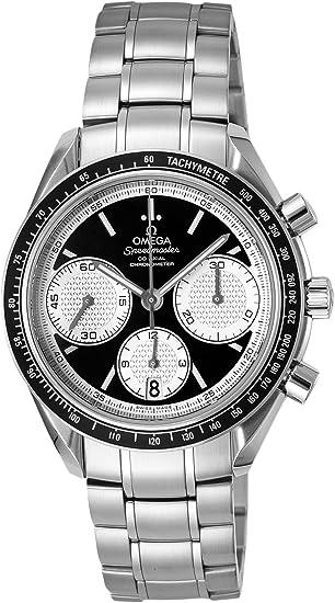 o32630405001002 Omega Montre pour homme Speedmaster Étui en acier inoxydable, bracelet en acier inoxydable, cadran noir, mouvement automatique Saphir,