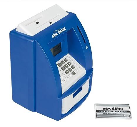 Idena 50020 Digitale Spardose Geldautomat mit Sound, 21,8 x 16 x 14,5 cm