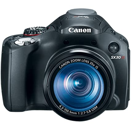 amazon com canon sx30is 14 1mp digital camera with 35x wide angle rh amazon com