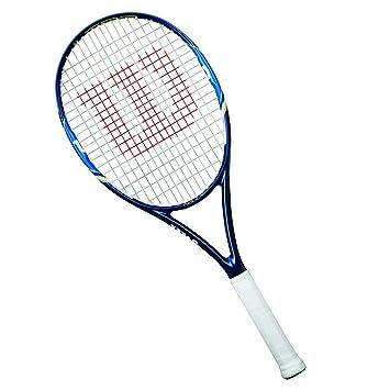 4c83269ce Wilson Raqueta de tenis unisex, Para juegos en todas las áreas, Para  principiantes y expertos, Ultra 100 UL, Medida 2, Azul/Blanco: Amazon.es:  Deportes y ...