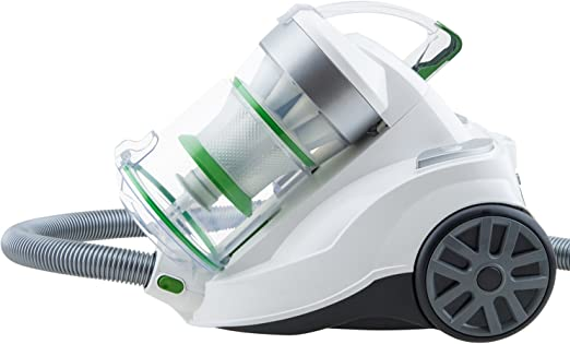 H.Koenig Aspiradora sin Bolsa Potente, Capacidad 2 L, Filtro HEPA ...