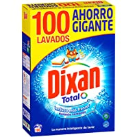 Dixan Detergente Polvo Total - 100 Lavados (5.30