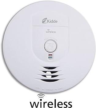 Kidde Battery Operated Wireless Interconnect Smoke Detector Alarm