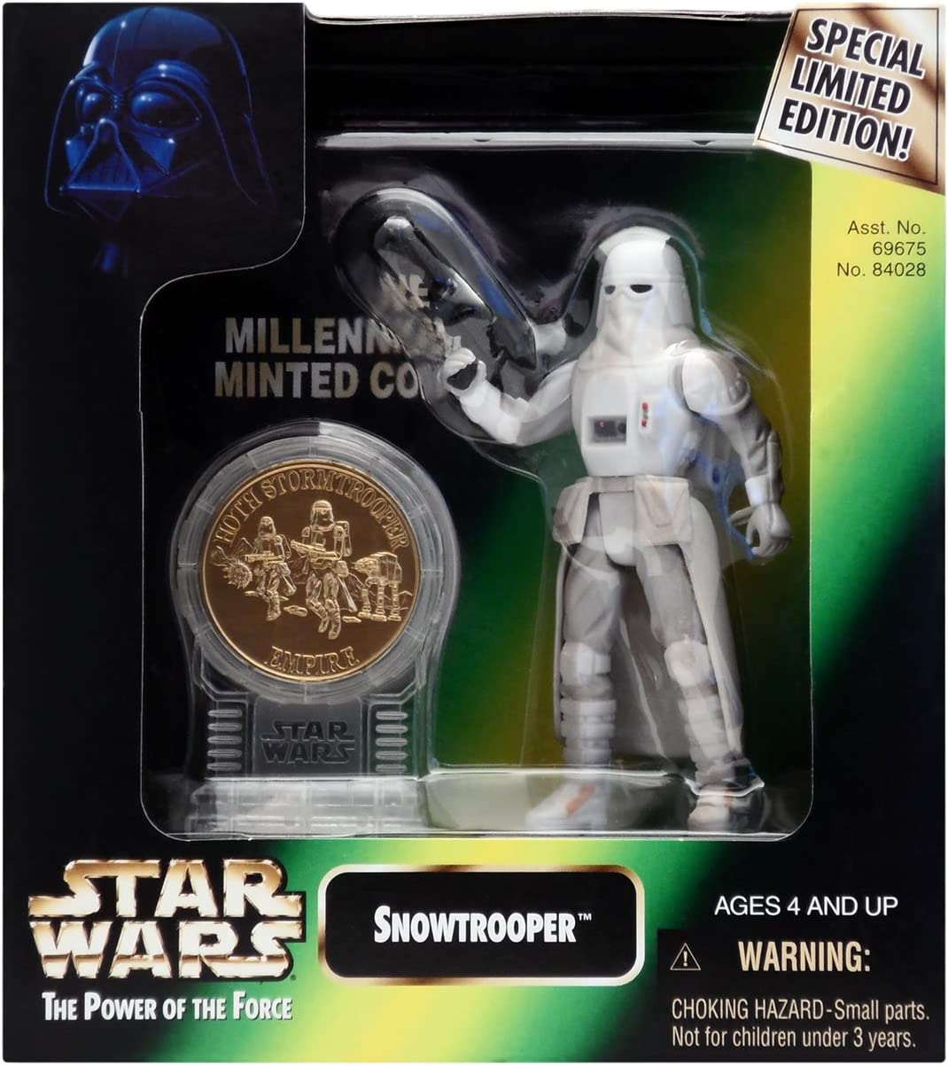 Star Wars The Power of the Force Chewbacca Action Figure with Gold Coin 3.75 Inches