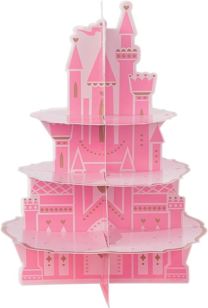 Castle Shape Cupcake Size Fondant Decorating Stamp and Handle #1593