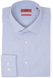 d1e660183 HUGO by Hugo Boss Men's Dress Shirt at Amazon Men's Clothing store: