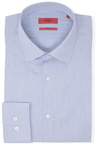 Amazon.com: Hugo Boss - Camisa de vestir para hombre con ...