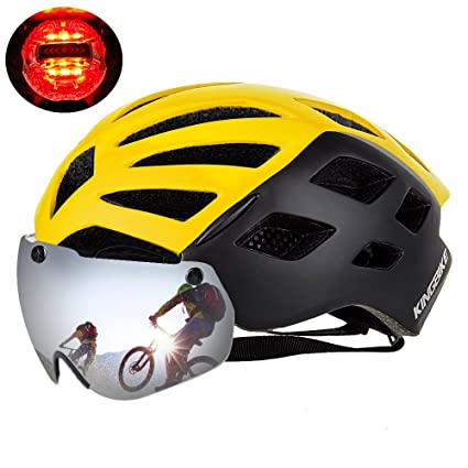 Amazon.com: KINGBIKE Dot – Casco de ciclismo con protección ...