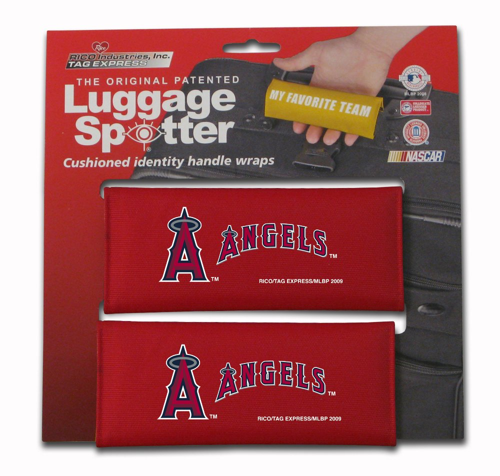 CLOSEOUT ALMOST GONE! Pocket ANGELS Luggage Spotter Suitcase Handle Wrap Bag Tag Locator with I.D