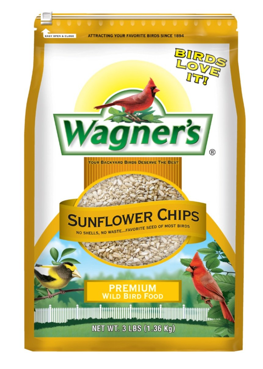 Wagner's 57051 Sunflower Chips, 3-Pound Bag Wagner' s