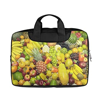 Portátil notebook frutas uvas y Apple Banana mango manga ...