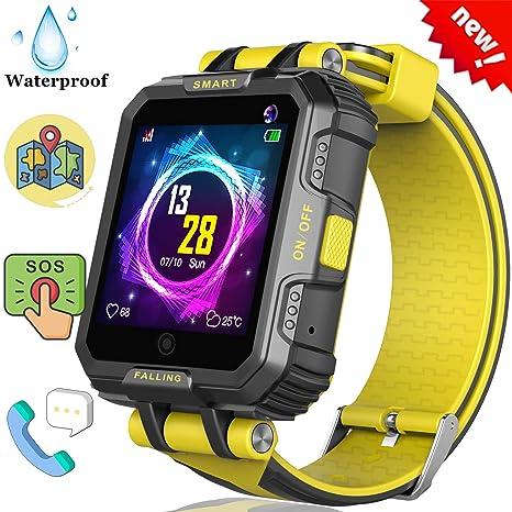 Amazon.com: 2019 New Kids Smart Watch GPS Tracker Phone ...