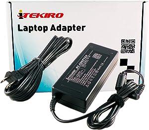 iTEKIRO 90W AC Adapter for Fujitsu Lifebook AH532, AH562, AH564, E544, E554, E733, E734, E743, E744, E752, E753, E754, LH522, LH532, NH532, NH570, P702, P772, S752, S762, S762, T732, T734, T902, T904, U772, U904 + iTEKIRO 10-in-1 USB Charging Cable