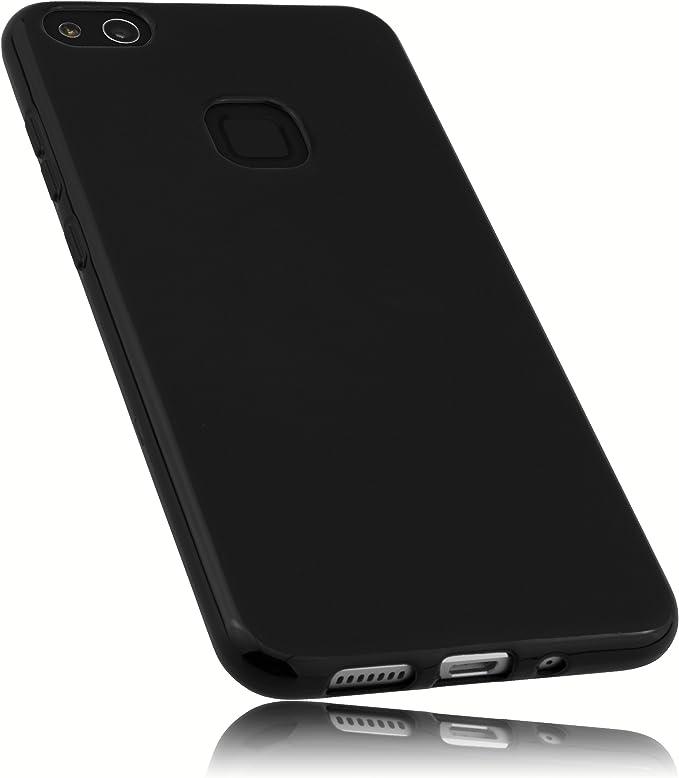 mumbi Funda compatible con Huawei P10 Lite, negro: Amazon.es: Electrónica
