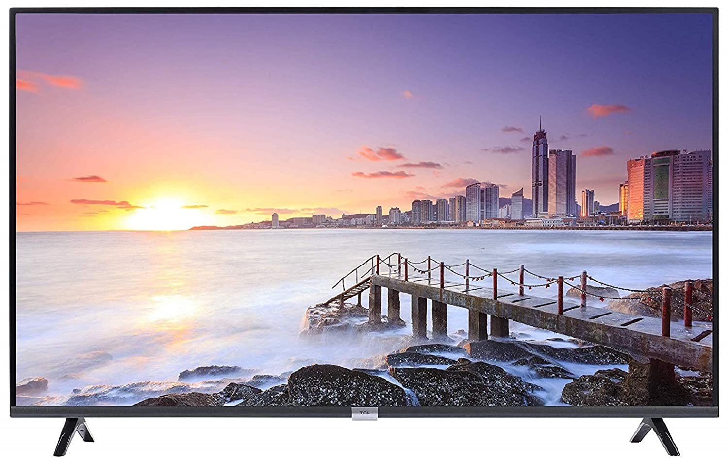TCL 80 cm (32 inches) HD Ready Smart Android LED TV 32P30S (Black)