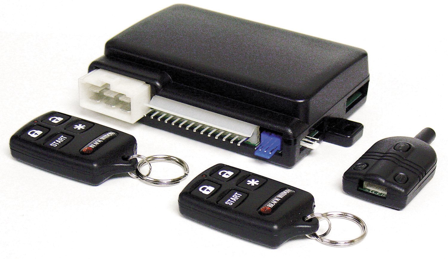 Amazon.com: Black Widow BWRAS651 Vehicle Remote Start System with ...