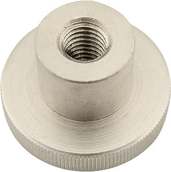 Edelstahl A1 1.4305 M4 R/ändelmuttern hohe Form 2 St/ück - R/ändel-Mutter DIN 466 rostfrei Eisenwaren2000