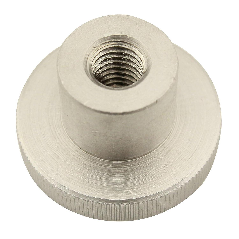 Rä ndelmuttern ( hohe Form ) - M6 - ( 2 Stü ck ) - DIN 466 - rostfreier Edelstahl A1 (VA) / NIRO - SC466 | SC-Normteile