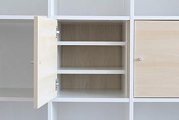 Inwona Extrafach Für Ikea Kallax Tür Einsatzregaleinsatz Mit 2