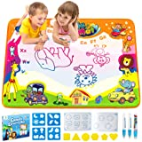 Betheaces Water Drawing Mat Aqua Magic Doodle Kids Toys Mess Free Coloring Painting Educational Writing Mats Xmas Gift for To