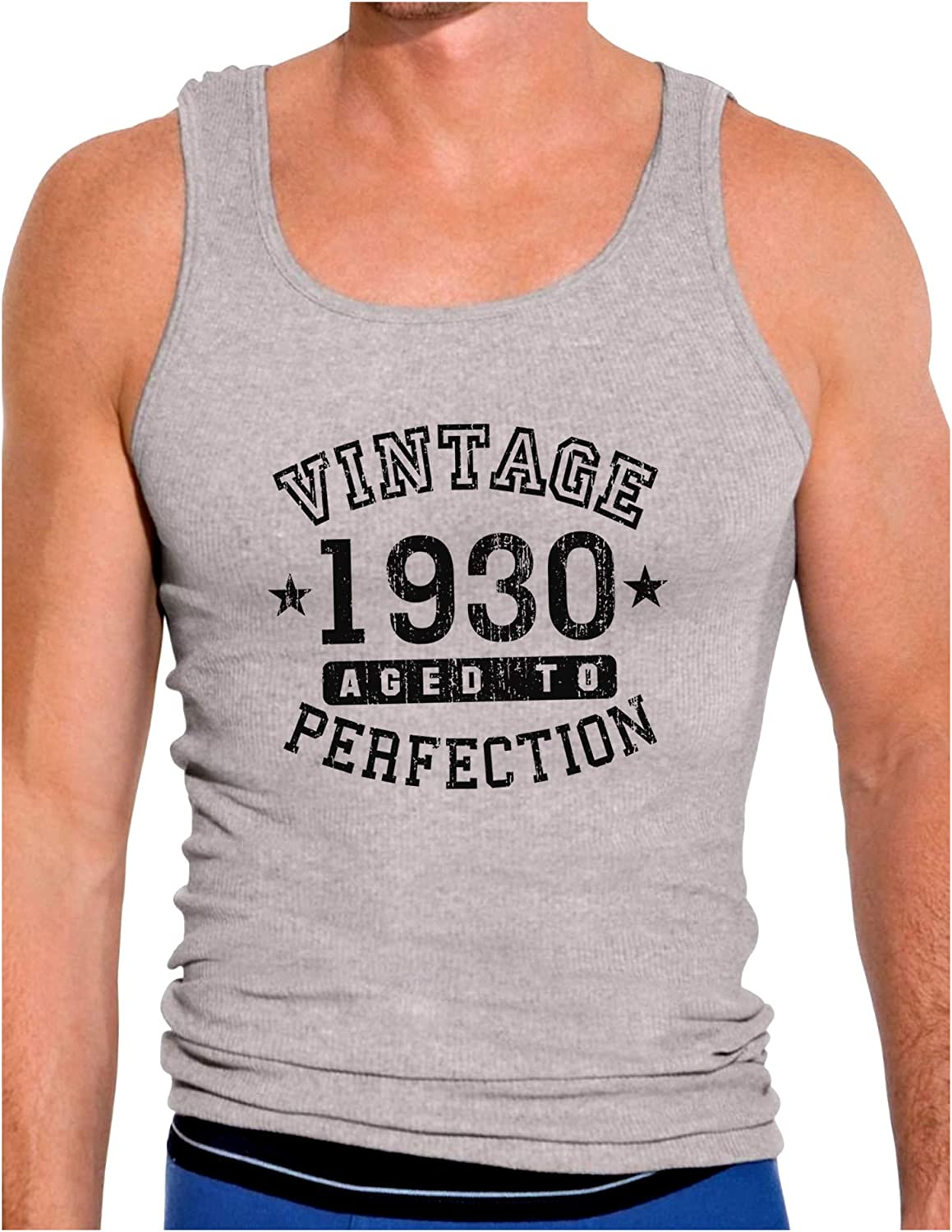 Vintage Birth Year Muscle Shirt Brand TooLoud 1930
