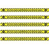 Pack de 5 unidades Vinilo Adhesivo Suelo Separador, 100 cm de largo y 7 cm de ancho