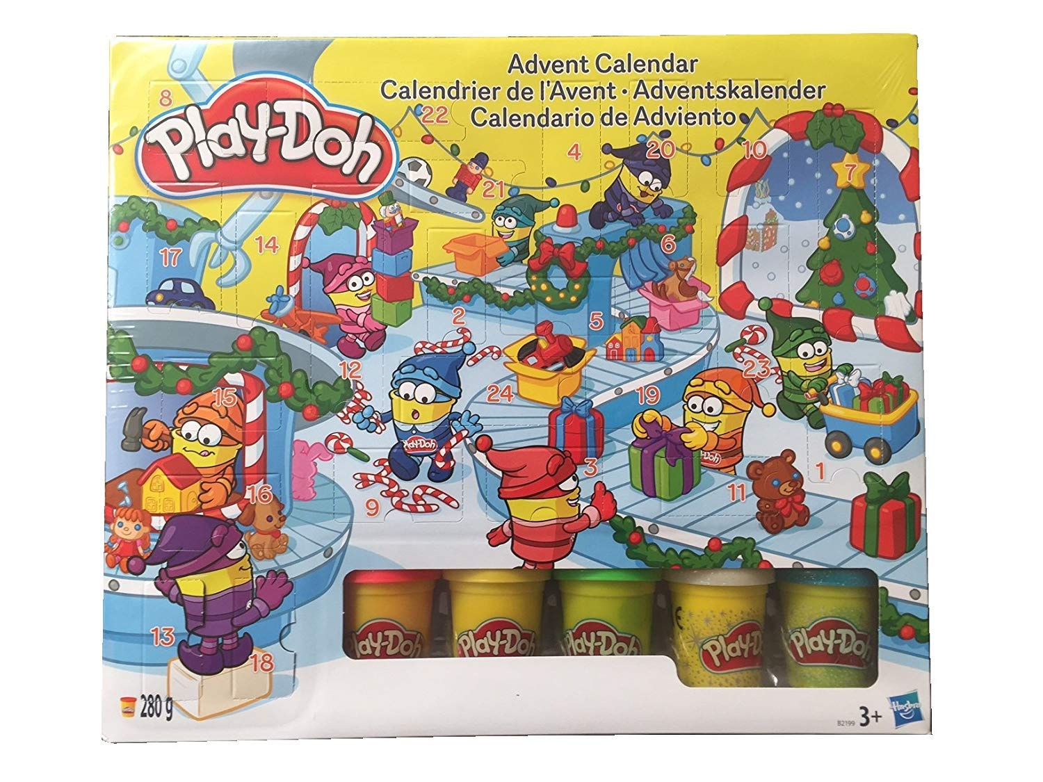 Advent Hasbro Play Doh Deluxe 2018 Kids Childrens Christmas Xmas Calendar