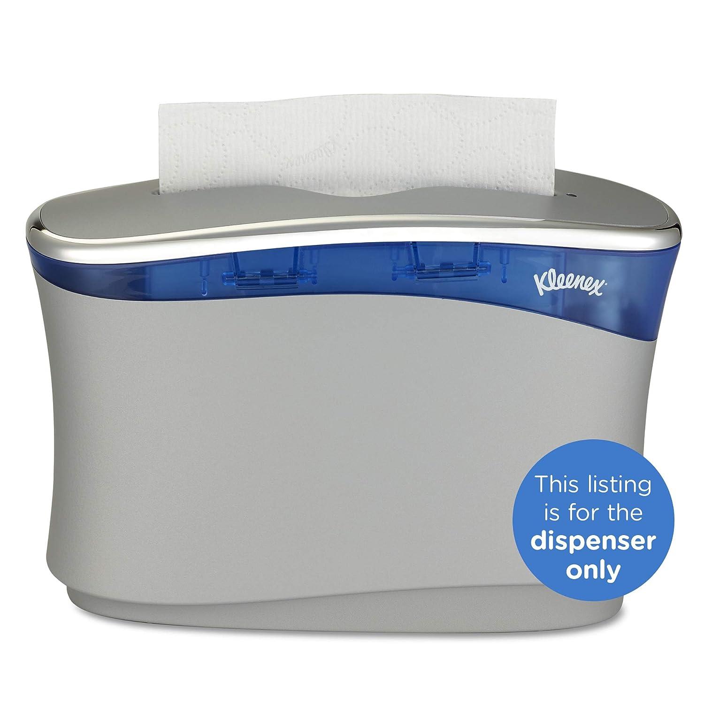 Kleenex Reveal Countertop System Dispenser 51904 133 x 9 x 52 Fits Select Kleenex Folded Paper Hand