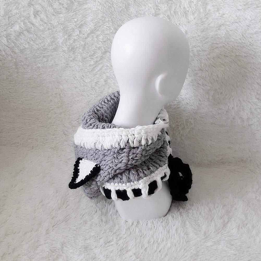KeKeYM Children Baby Winter Woolen Knitted Warm Cap Hat