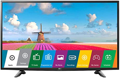 LG 108 cm (43 Inches) Full HD LED TV 43LJ522T (Black) (2017 model)