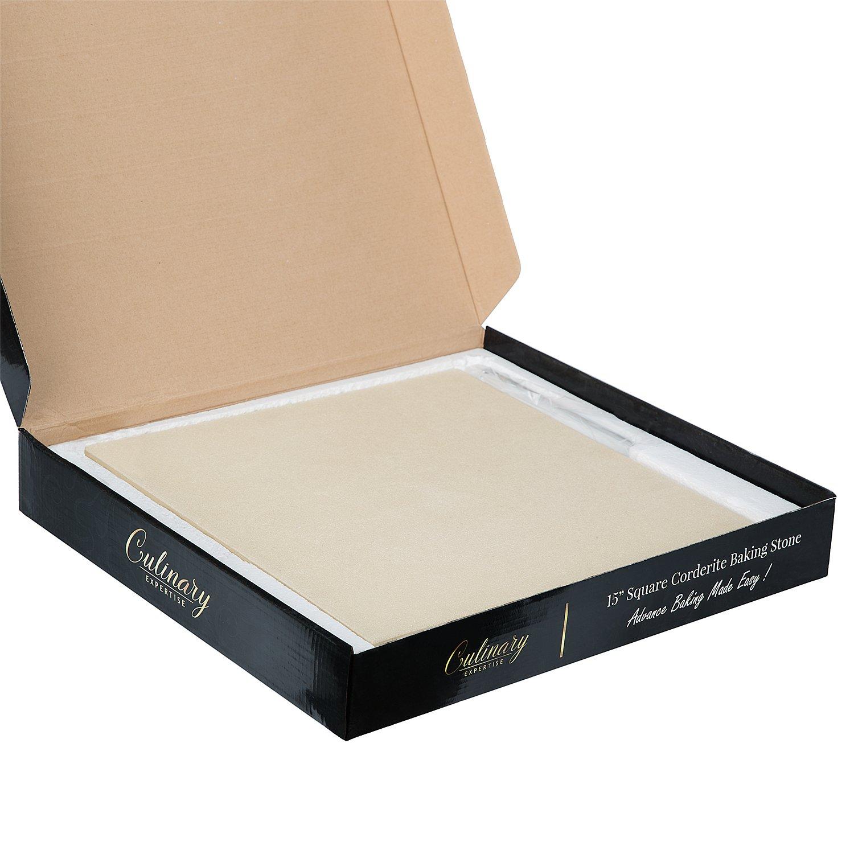 Culinary Expertise Cordierite Pizza Stone Set Amp Bread