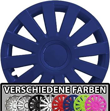 Eight Tec Handelsagentur Farbe Größe Wählbar 16 Zoll Radkappen Agat Blau Passend Für Fast Alle Fahrzeugtypen Universal Auto