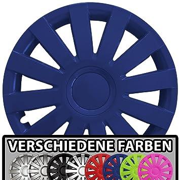 15 Zoll Radkappen AGAT Farbe /& Gr/ö/ße w/ählbar! universal passend f/ür fast alle Fahrzeugtypen Schwarz matt