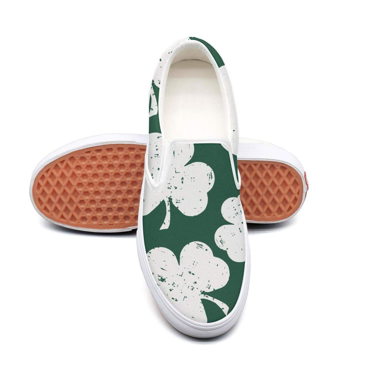 YSLC Mans Shamrock Happy St Patricks Day Skull Walking Shoes for Mens Cute Running Shoes