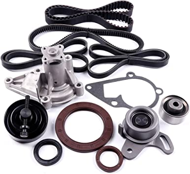 SCITOO Compatible with Head Gasket Set Fits 2006-2011 Kia Rio Rio5 Hyundai Accent 1.6L DOHC 16v VIN C
